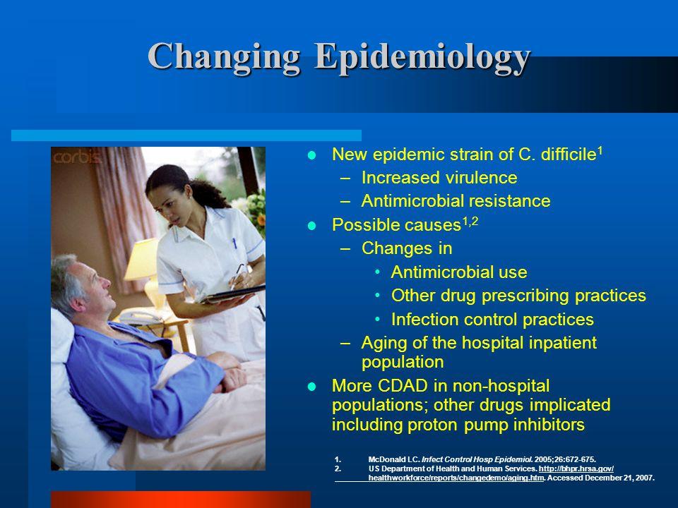 McDonald LC, et al.Emerg Infect Dis. 2006;12:409-415, and unpublished CDC data.