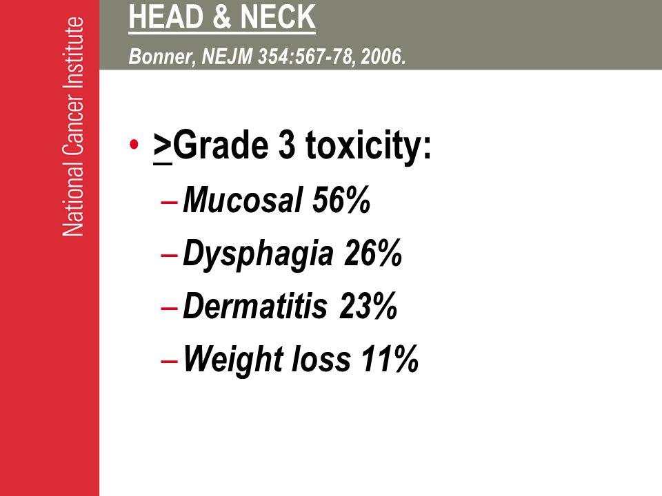 HEAD & NECK Bonner, NEJM 354:567-78, 2006.