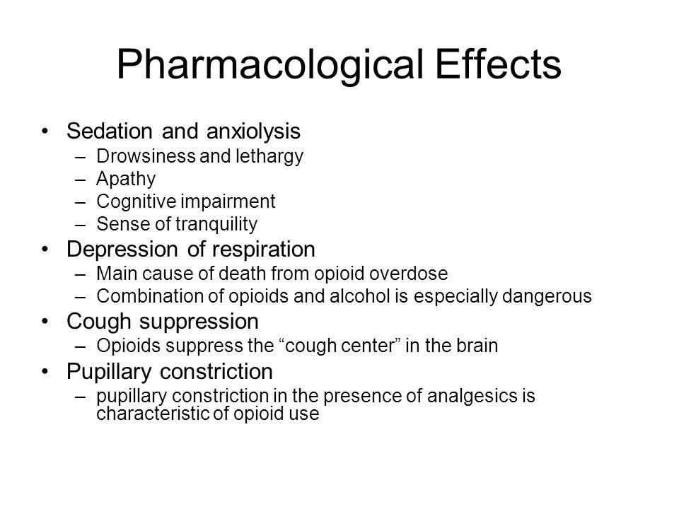 AGONISTS *Morphine *Heroin *Hydromorphone *Fentanyl *Codeine *
