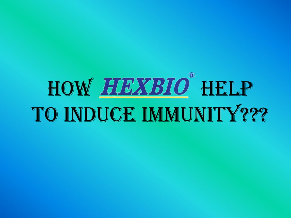 HOW HELP to induce immunity