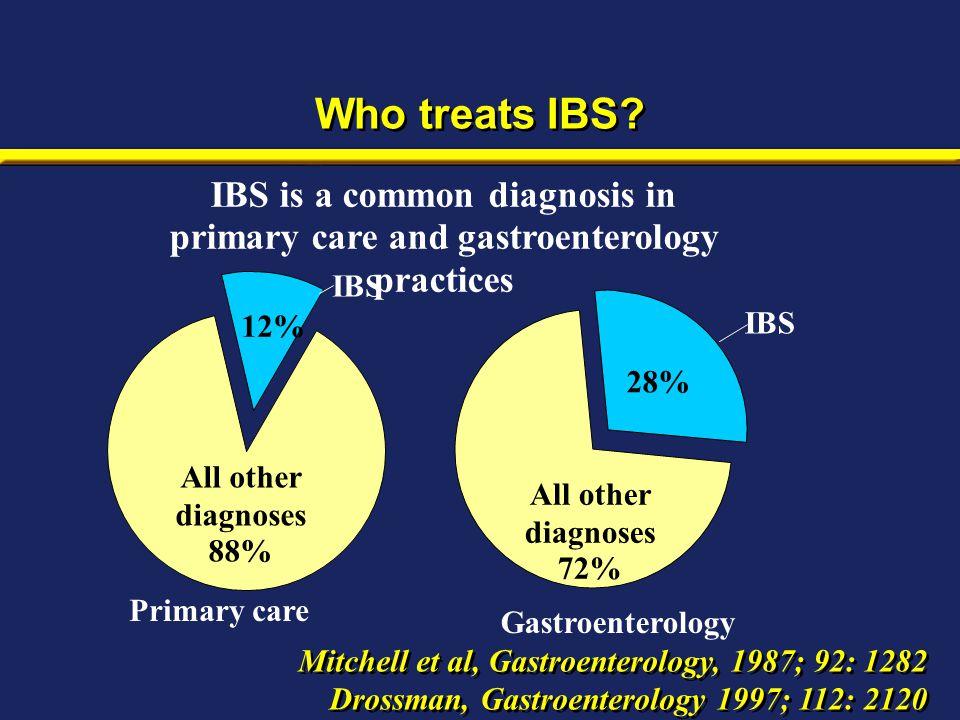 Who treats IBS.