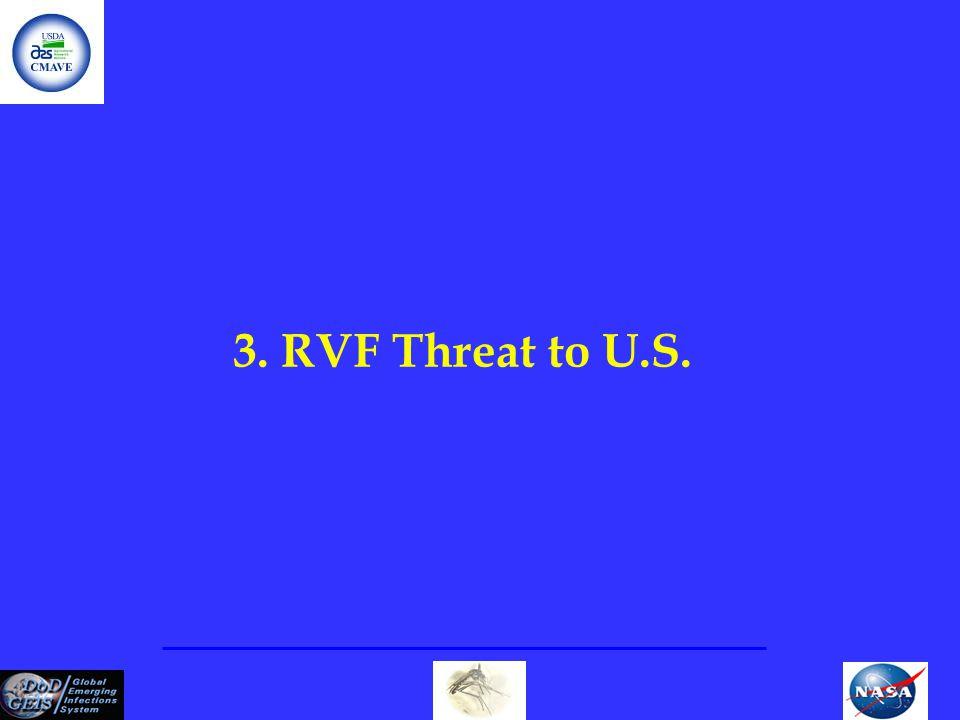 3. RVF Threat to U.S.