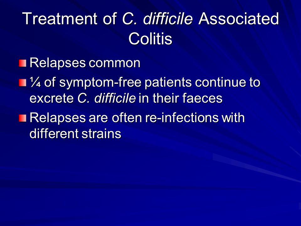Treatment of C.