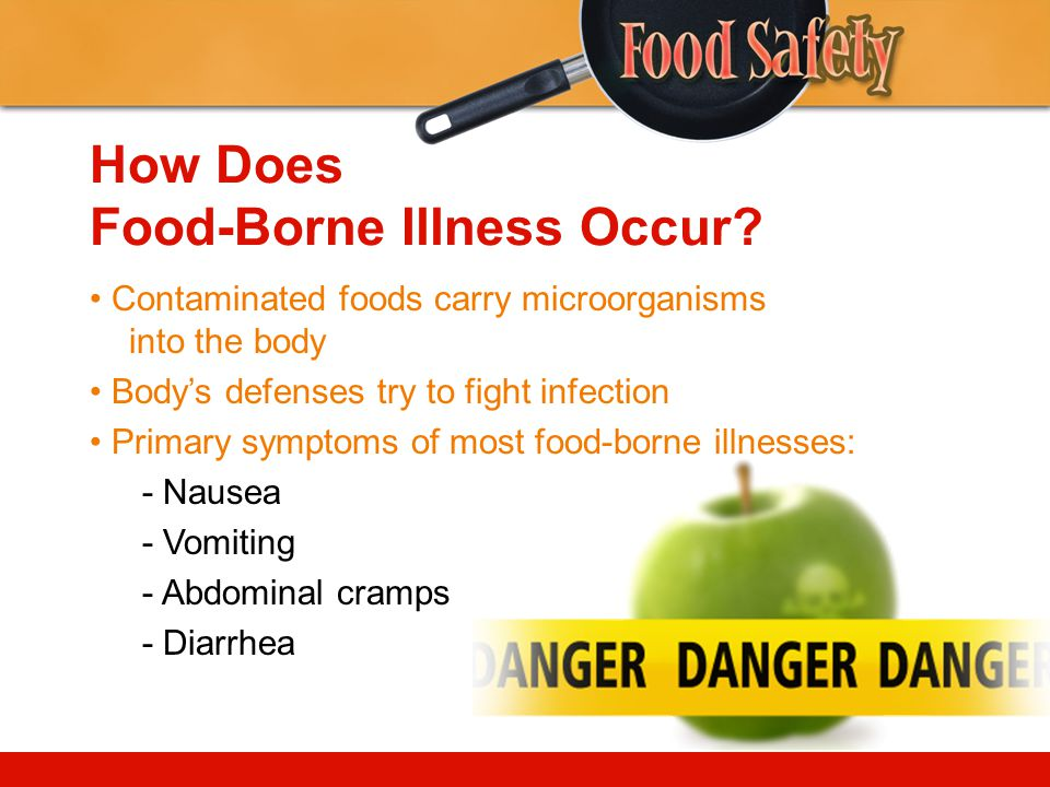 How Does Food-Borne Illness Occur.