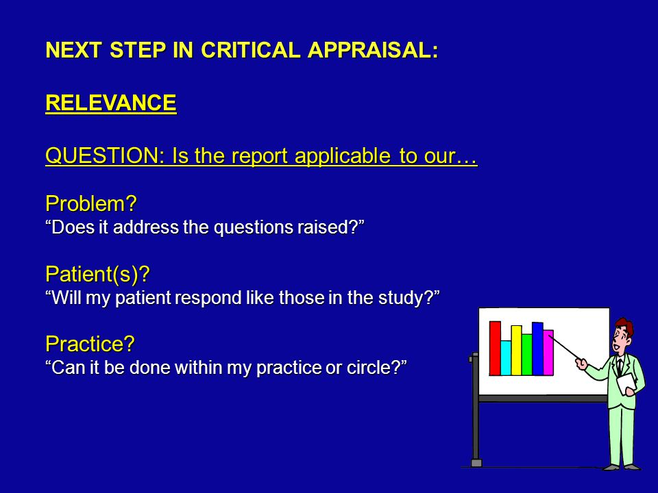 ARE THE STUDY PATIENTS Comparable within the study.