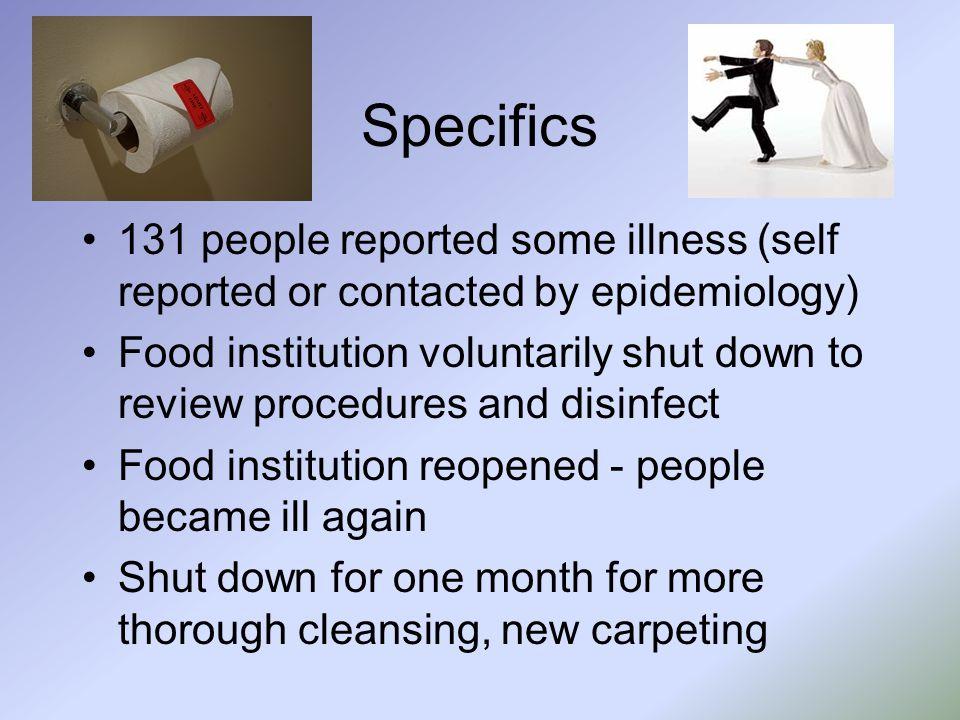 Serology Capture IgM assay 62% natural infection, 94% experimental infection –J Virol Methods 24:57-66 Timing of serum collection important –JCM 37:2983-6 Capture IgM better for diagnosis –JCM 36:1064-9, J Infect Dis 170:535-42