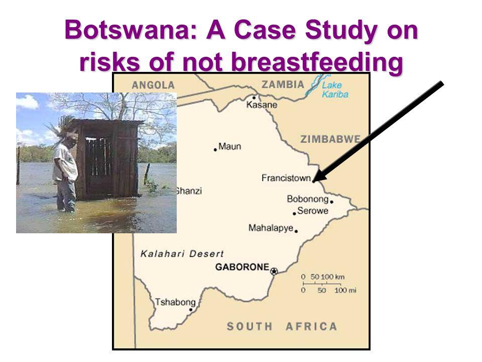 Botswana: A Case Study on risks of not breastfeeding
