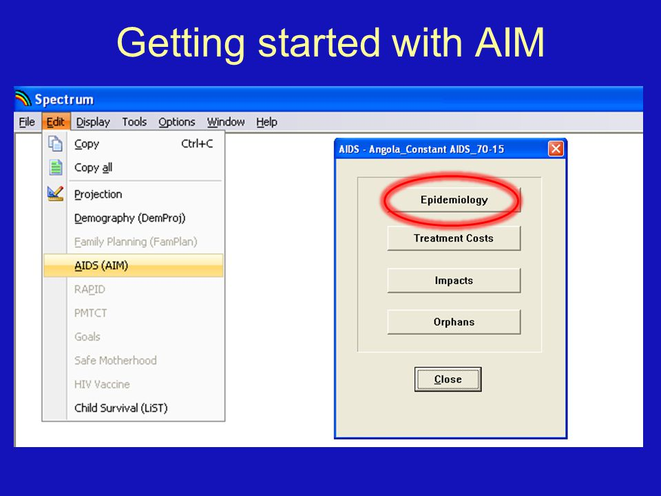 Getting started with AIM