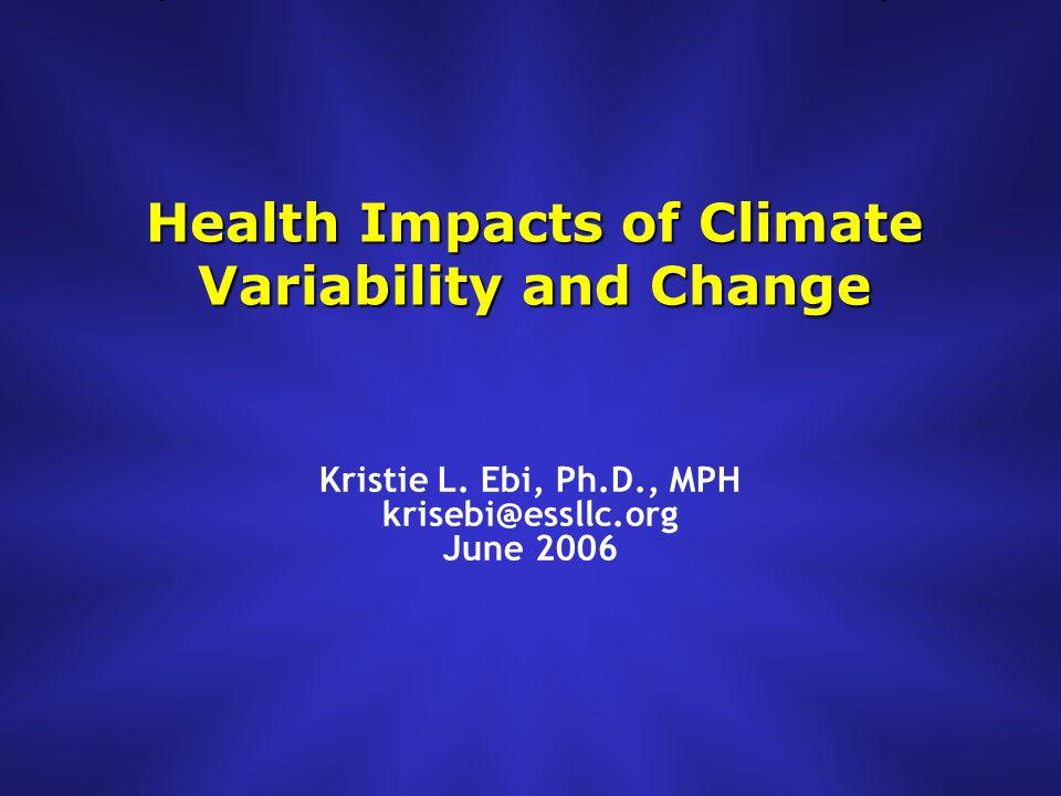Climate Change vs.