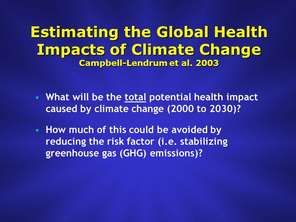 2050 Ebi et al. 2005
