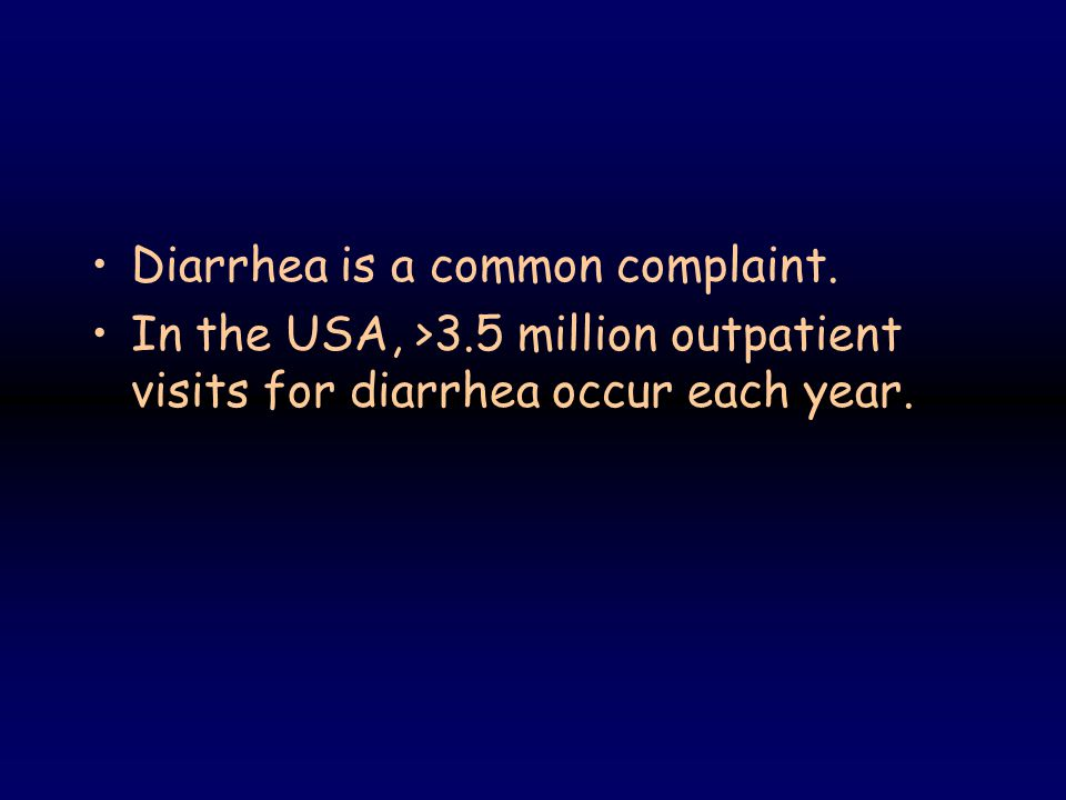 COMPLEX DIARRHEA Many of the clinically significant diarrheas are complex and have both osmotic and secretory components.