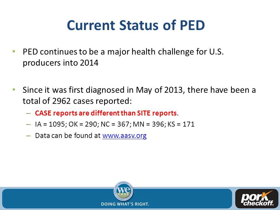 PED case #'s/month (as of Jan 31 st, 2013)