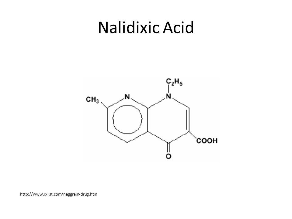 Nalidixic Acid http://www.rxlist.com/neggram-drug.htm