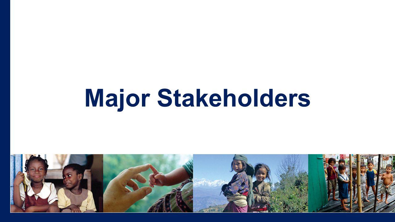 Major Stakeholders