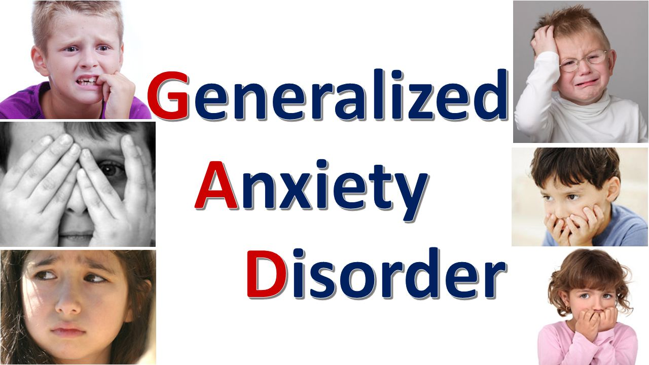 DSM-5 Criteria Characterized by uncontrollable and excessive worrying/anxiety for more days than not for at least 6 months about several events and activities causing significant distress/impairment in functioning Anxiety/worry is out of proportion to actual likelihood or impact of event/activity Worries are more excessive, more distressing, have longer duration, and occur more spontaneously than those experienced by non-pathological individuals Three of the six following symptoms must be present for diagnosis in adults; Only one symptom must be present for children: Restlessness or feeling on edge Easily fatigued Difficulty concentrating or mind going blank Irritability Muscle Tension Difficulty sleeping (DSM-5, 2013)