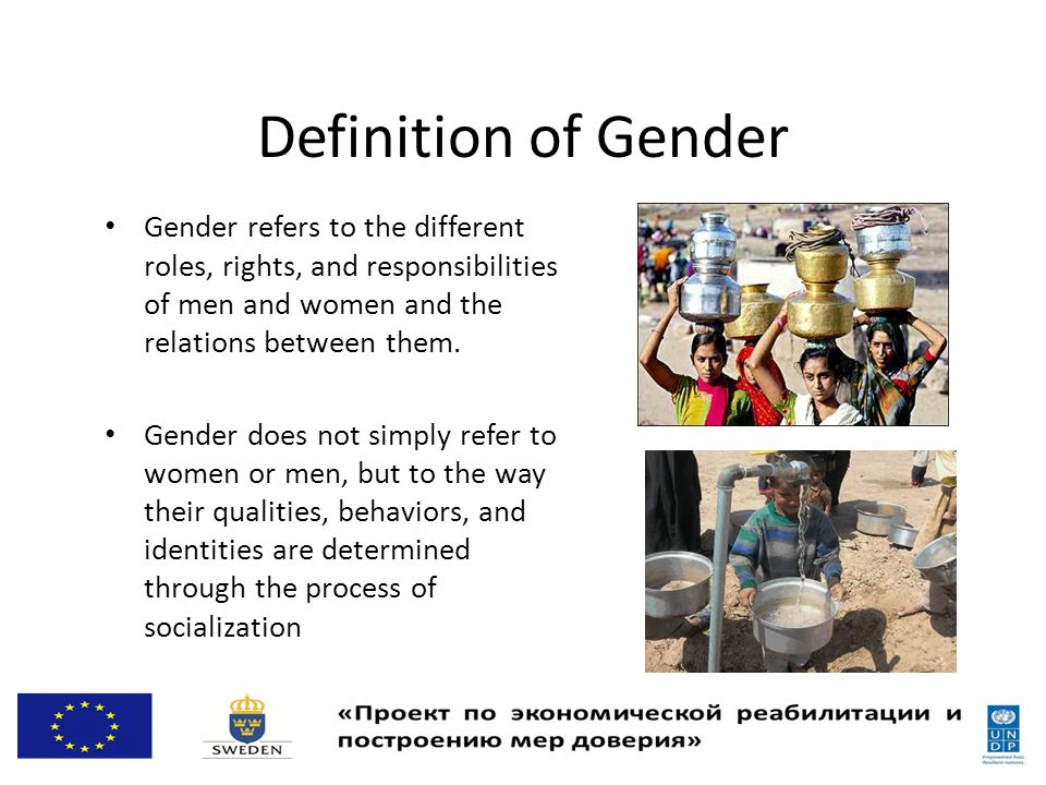 Why Gender Matters in IWRM.