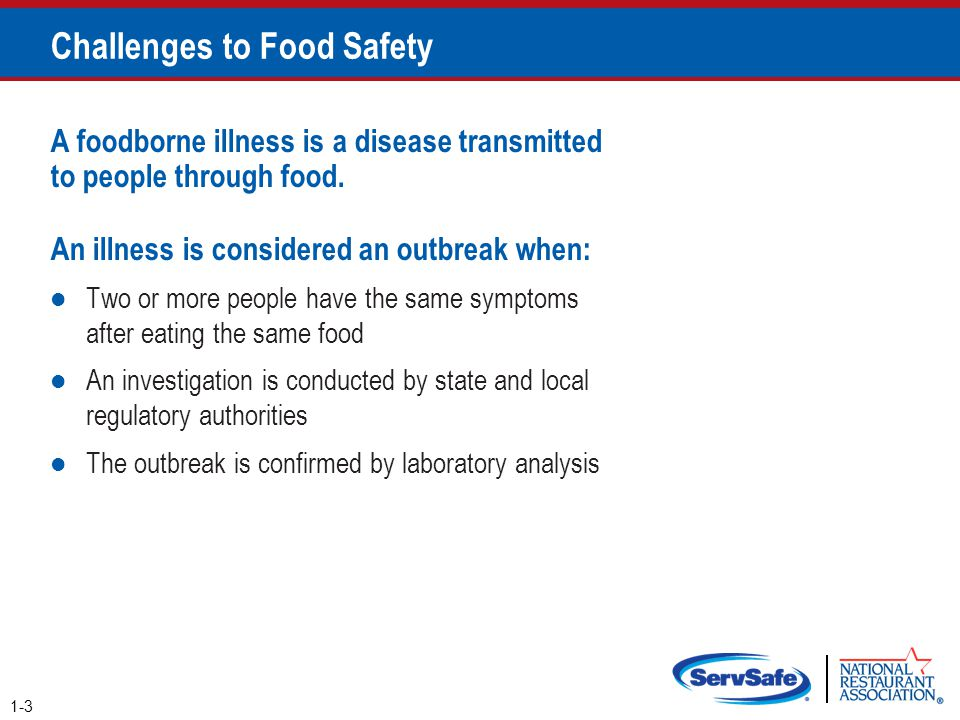 2-29 Biological Toxins Origin: Naturally occur in certain plants, mushrooms, and seafood Seafood toxins: Produced by pathogens found on certain fish o Tuna, bonito, mahimahi o Histamine produced when fish is time- temperature abused Occur in certain fish that eat smaller fish that have consumed the toxin o Barracuda, snapper, grouper, amberjack o Ciguatera toxin is an example