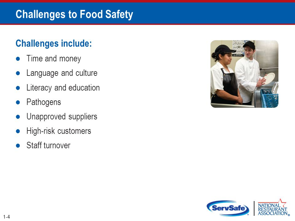 Responding to a Foodborne-Illness Outbreak Gather information o Ask the person for general contact information o Ask the person to identify the food eaten o Ask for a description of symptoms o Ask when the person first got sick Notify authorities o Contact the local regulatory authority if an outbreak is suspected 2-40