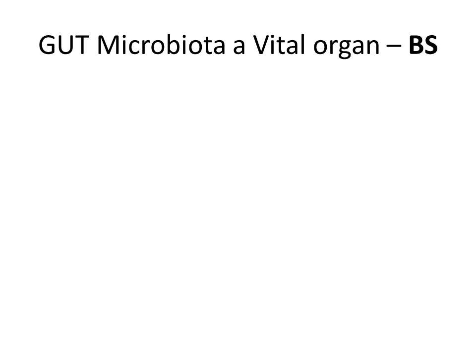 GUT Microbiota a Vital organ – BS