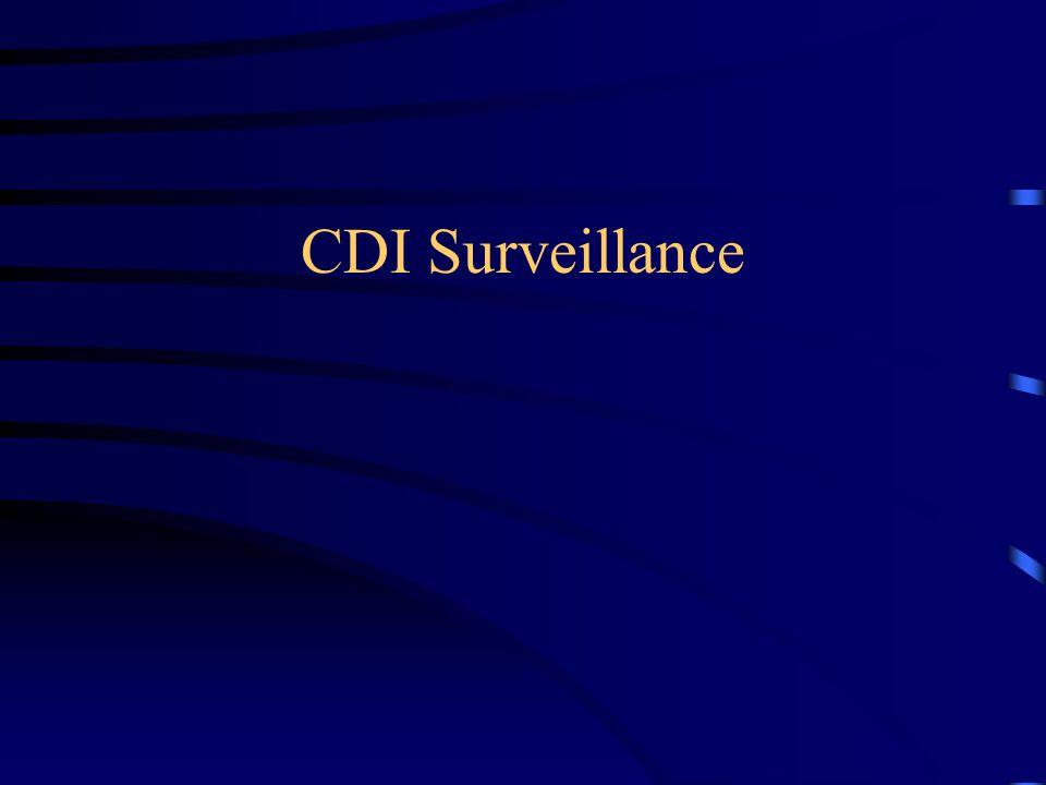 CDI Surveillance