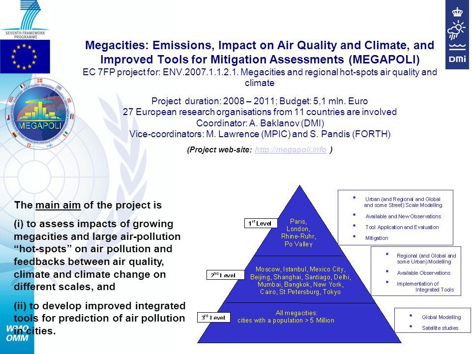 AREP GAW MEGAPOLI Dissemination Web-site: http://megapoli.infohttp://megapoli.info MEGAPOLI Newsletter (10) MEGAPOLI Sci.
