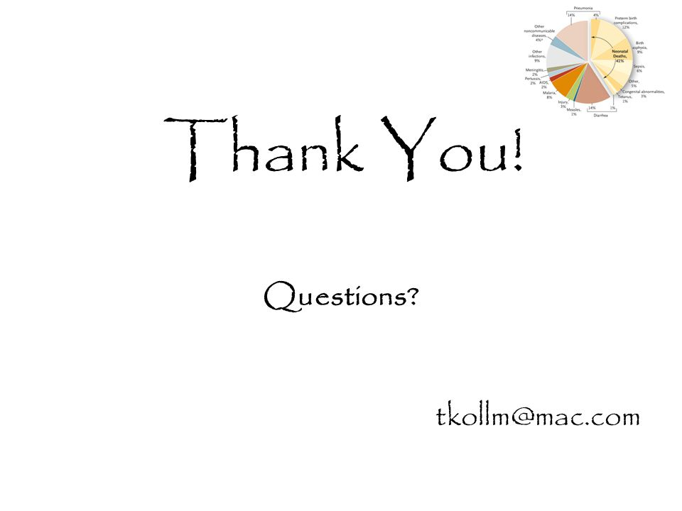 Thank You! Questions tkollm@mac.com