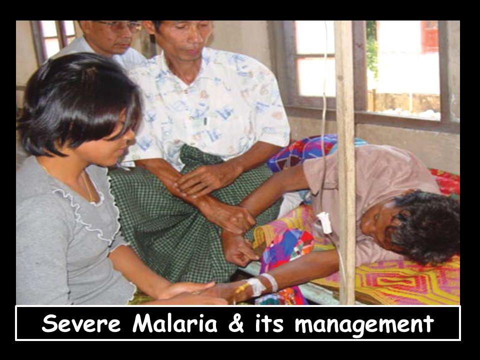 Severe Malaria & its management
