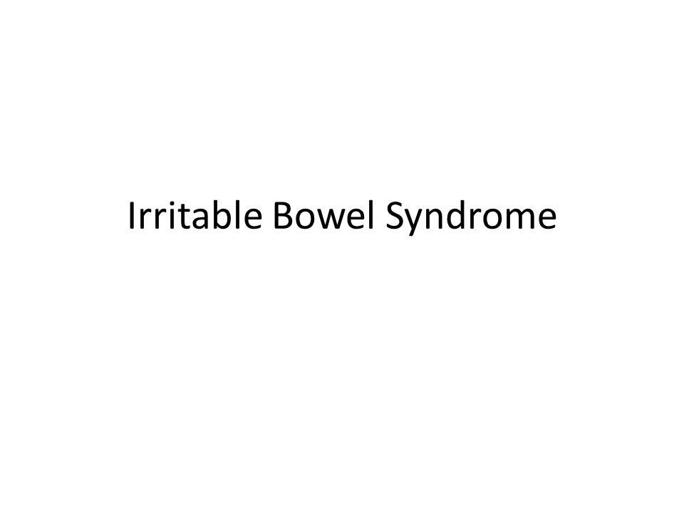 Irritable bowel syndrome (IBS) is a functional bowel disorder characterized by abdominal pain or discomfort altered bowel habits in the absence of detectable structural abnormalities.