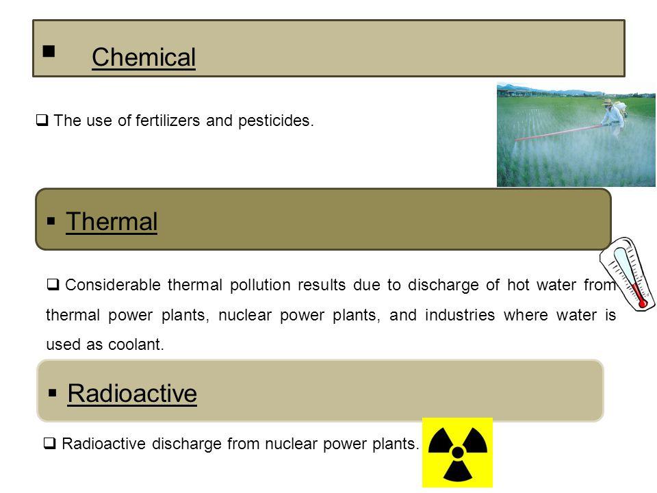 Question 5 A C B Sediments, biological and thermal; Thermal; Thermal and biological;  Main types of pollution