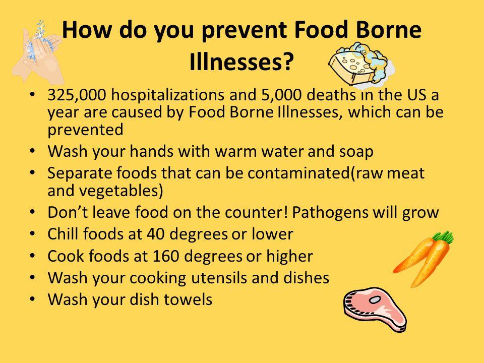 Where do Food Borne Illnesses come from.
