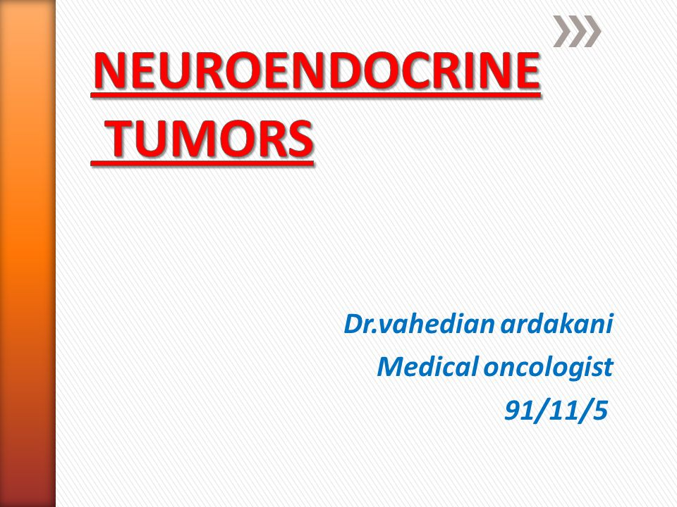 Neuroendocrine tumors (NETs) are derived from the diffuse neuroendocrine system, which is made up of peptide- and amine-producing cells with different hormonal profiles depending on their site of origin.