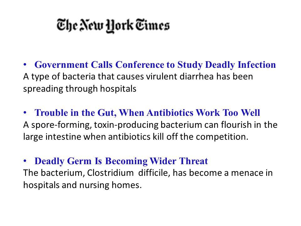 What causes C.diff colitis. C.