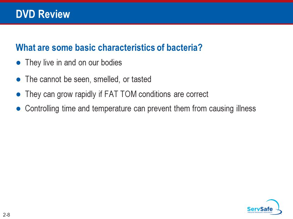 What are some basic characteristics of bacteria.