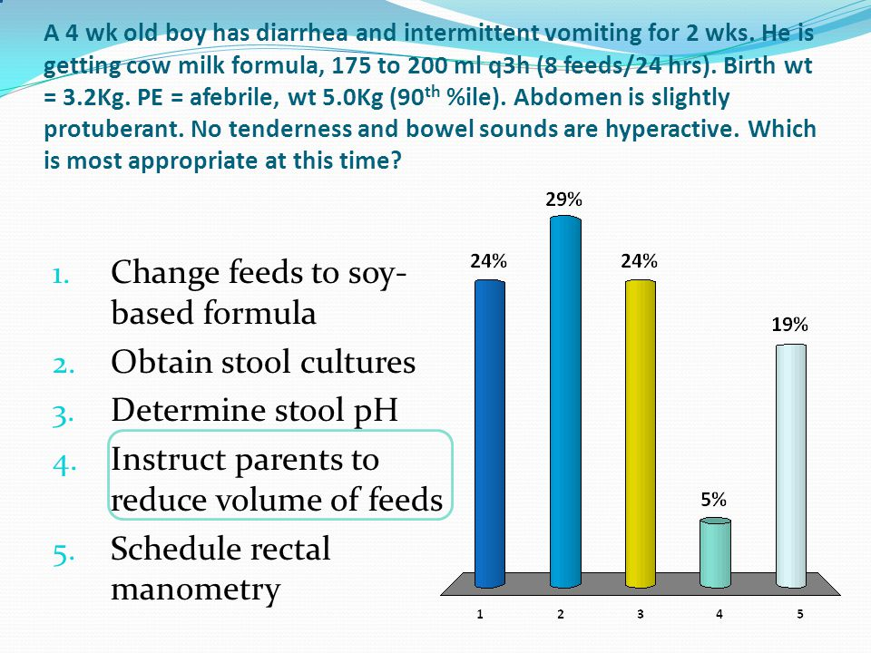 Lower GI Bleed – 1-12 years COMMON : Anal fissure Juvenile polyp Meckel's diverticulum Infectious diarrhea IBD LESS COMMON : Henoch-Scholein purpura Hemolytic uremic syndrome Intestinal duplication Hemorrhoids