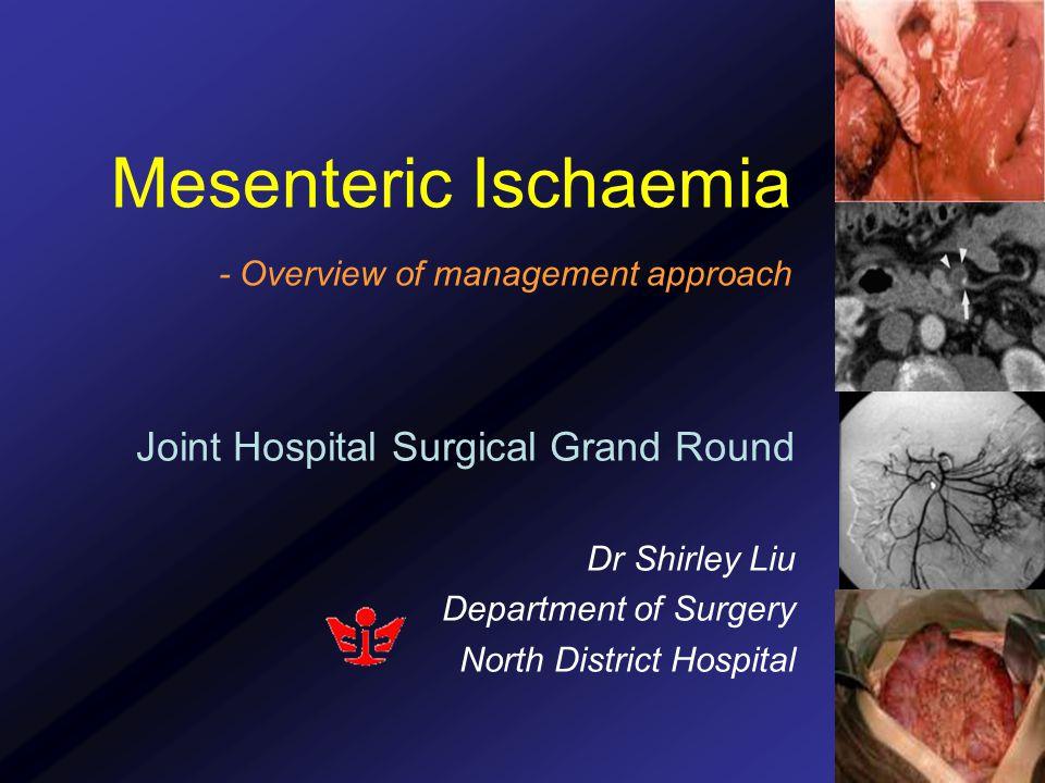 Definitive surgical exploration 1.Assessment of bowel viability 2.