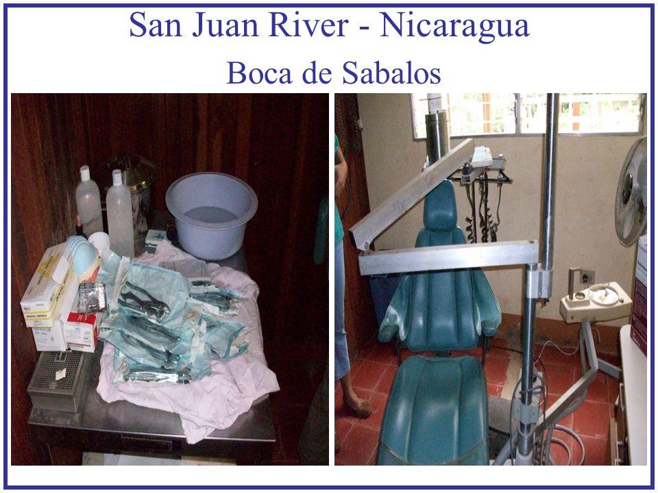 San Juan River - Nicaragua Boca de Sabalos