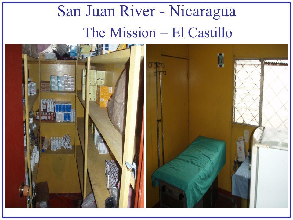 San Juan River - Nicaragua The Mission – El Castillo