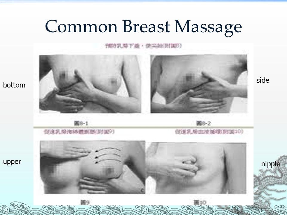 Common Breast Massage bottom side upper nipple 10