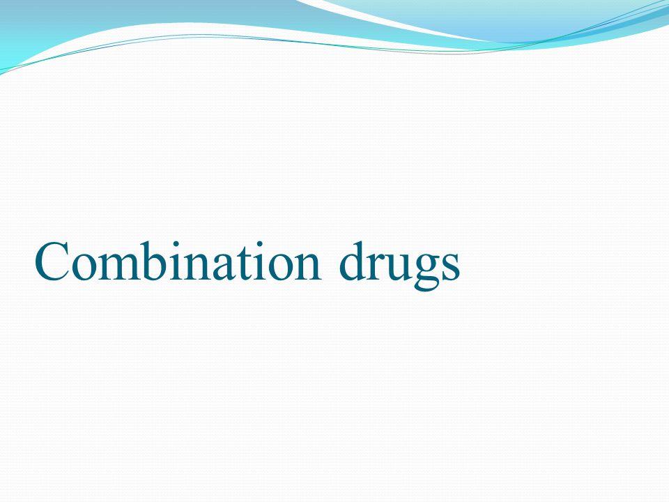 Combination drugs