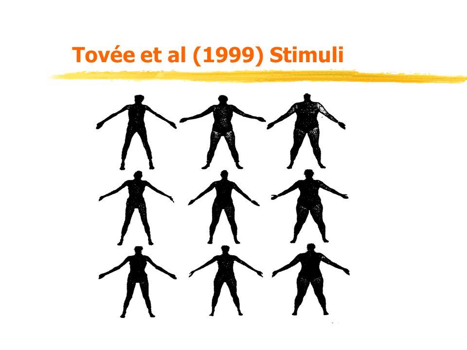 Tovée et al (1999) Stimuli
