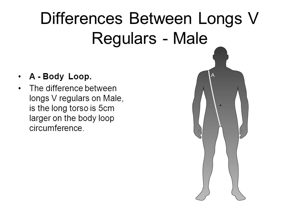 Male – LZR RACER Body No Arms Sizes Developed  Small  Small Long  Medium  Medium Long  Large  Large Long  Extra Large