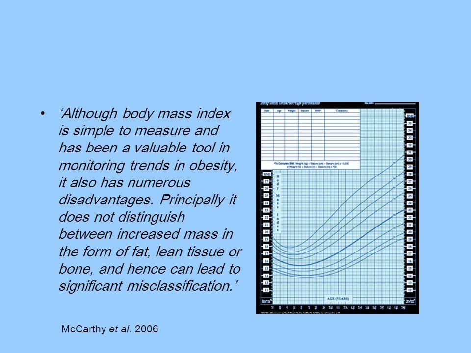 McCarthy et al. 2003. BMJ 326: 624 NDNS girls NDNS boys BSI girls BSI boys