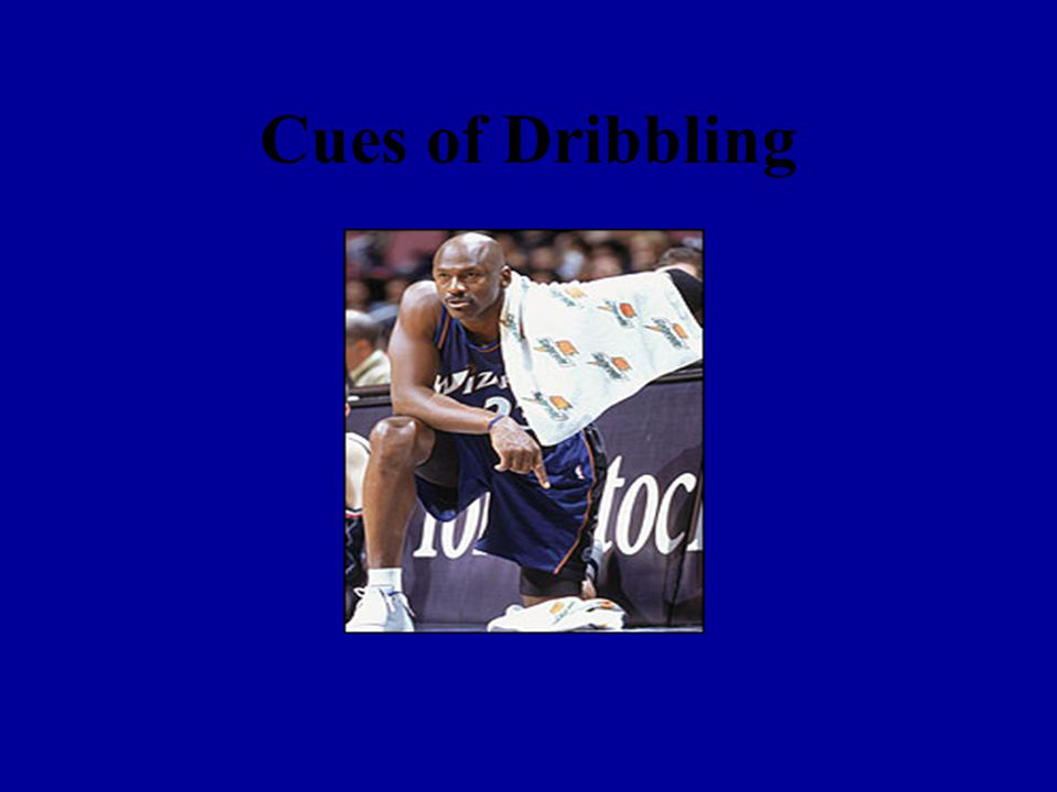 Dribble around cones in gym Dribble around cones to get used to dribbling around opponents in a game situation