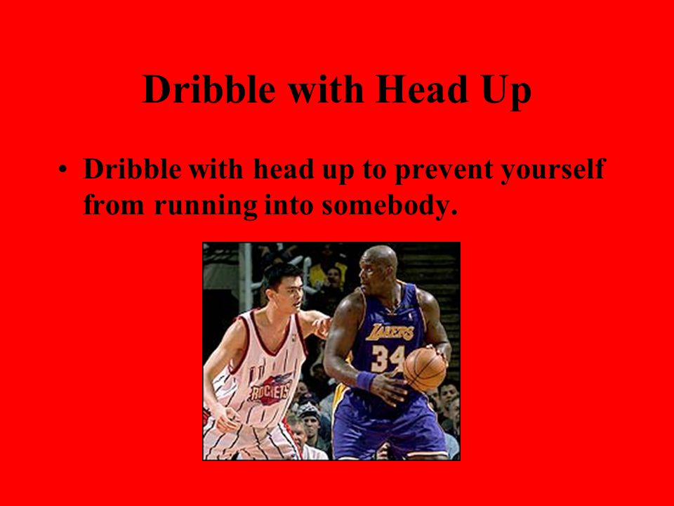 Safety Precautions for dribbling