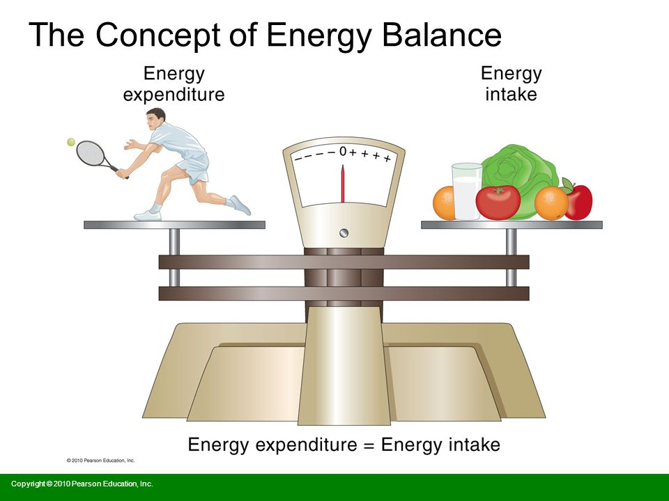 The Concept of Energy Balance Copyright © 2010 Pearson Education, Inc.