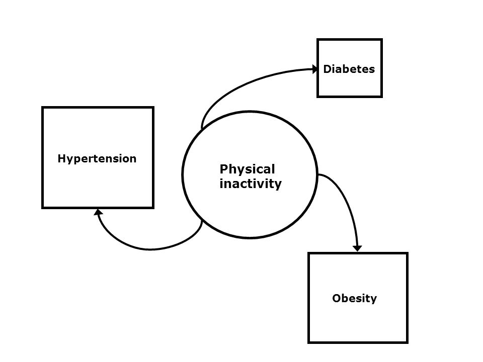 Diabetes Obesity Hypertension Physical inactivity