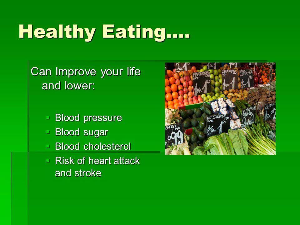 Healthy Eating….