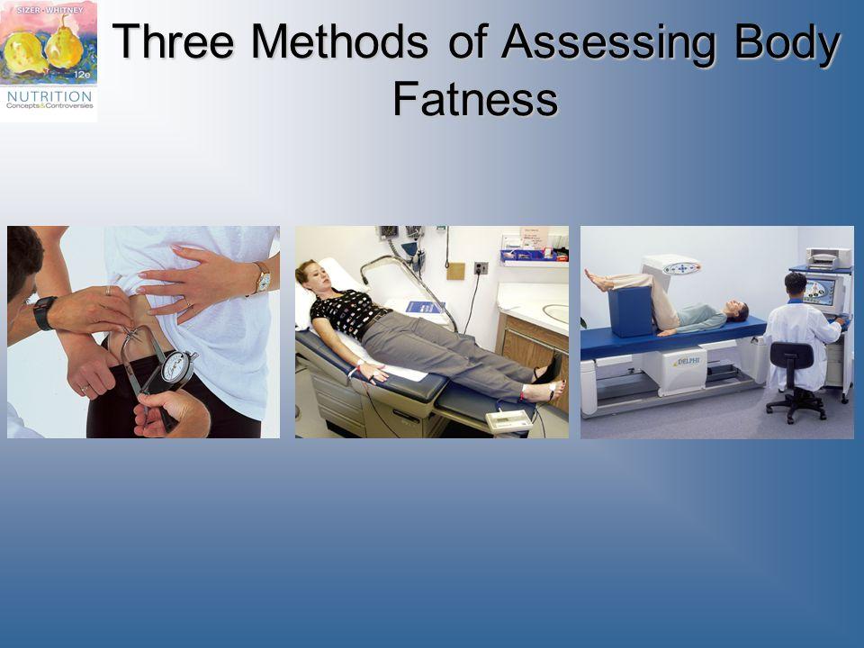 Three Methods of Assessing Body Fatness