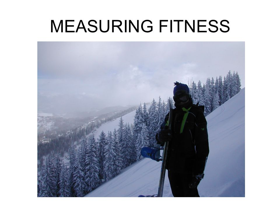 MEASURING FITNESS