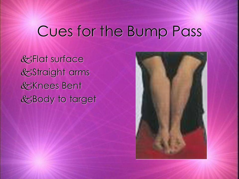 When do you use the Bump Pass.